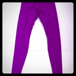 Lululemon tender violet wunder under pants sz 8&10
